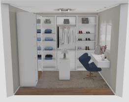 2 Closet planejados moderno - designer Graziela Lara