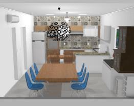 COzinha mesa parede
