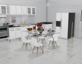 Projeto de cozinha da Lila
