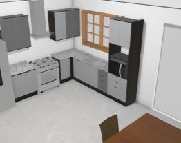 cozinha Kappesberg modelo armário micro ao lado da janela