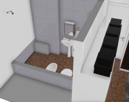 Quarto banheiro como é hoje