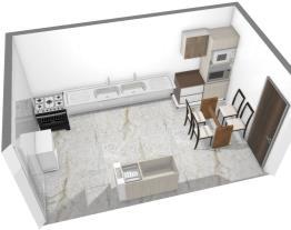 Projeto da cozinha Multimóveis