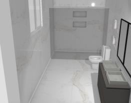 Banheiro quarto casal pirapo