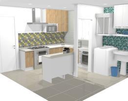 Cozinha/lavanderia C.R.R.C