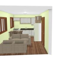Néia simulação de ambiente casa