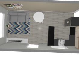 minha cozinha e sala