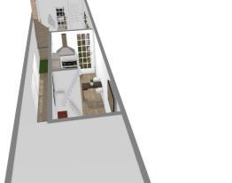 Projeto Para Sobrado Terreno 3x19 - Sobrado Estreito - Planta Baixa