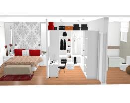 Qto/closet e banheiro