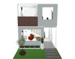 Casa 2 - Sala de estar e mezanino