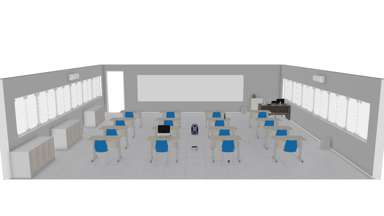 Sala de aulas desenho