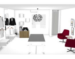 projeto de loja no quarto de casa