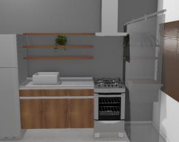 Estar/Cozinha/Serviço