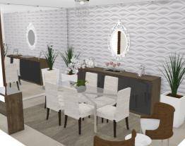 Sala jantar - Graziela Lara