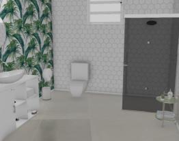 Banheiro floral