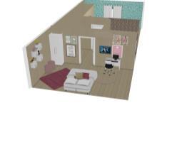 dois quartos e banheiro