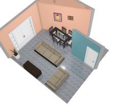 Sala na  frente (cozinha)