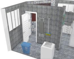 Cozinha e área de serviço projeto 02