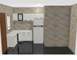 Cozinha Omar Aço Premium