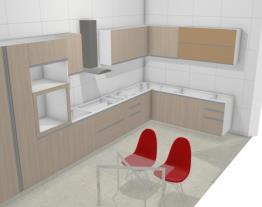 Meu projeto no Mooble cozinha  casa nova