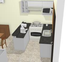 Cozinha U