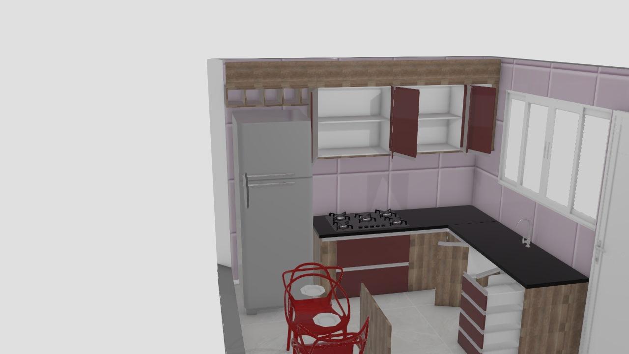 Monica cozinha