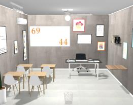 Sala de aula em casa