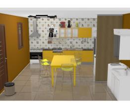 minha cozinha de trabalho GV