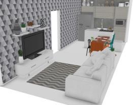 sala e cozinha rafaela e rones
