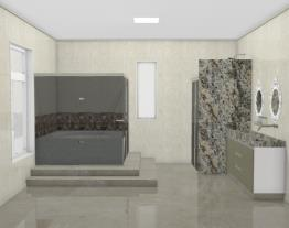 Banheiro da Suíte Master Alessandro & Cida