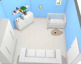 Quarto de bebe/menino