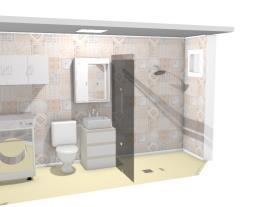 Banheiro kitnet