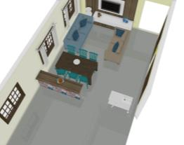 Sala/Cozinha Neliana