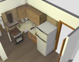 cozinha geladeira alterada