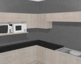 Cozinha Modulada Completa 15 Módulos Unique Carvalle - Kappesberg