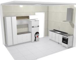 cozinha com parede 1