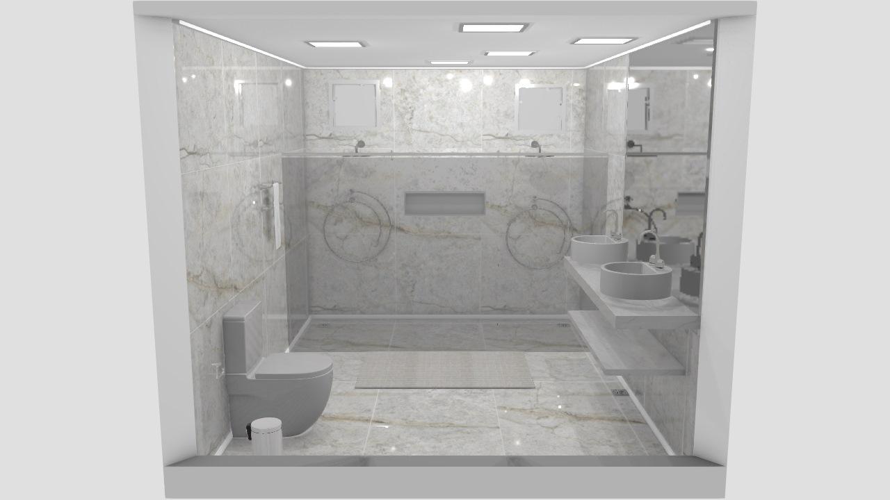 banheiro corredor