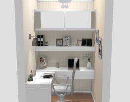Escritório home office - designer Graziela Lara