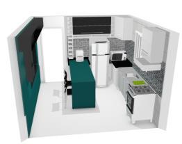 Cozinha Projetando 3