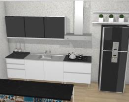 Cozinha Clarice Azul - Preto