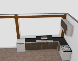 Cozinha quiosque