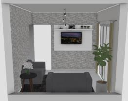 sala da minha casa reformada