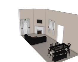 Projeto sala/sala de janta - Luli