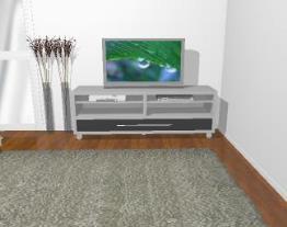 Rack para tv / balcão com rodízios - Ref. 1206/A - Quiditá