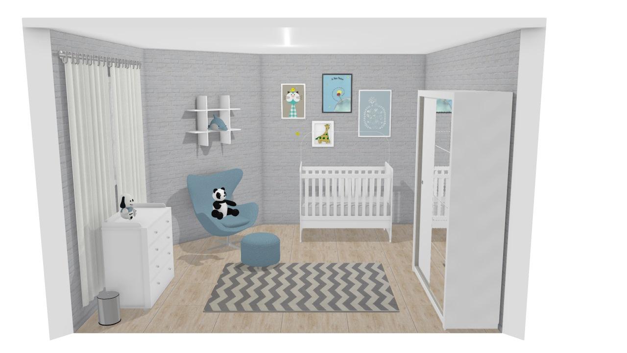 projeto quarto bebe menino