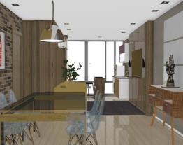 varanda gourmet integrada a salas