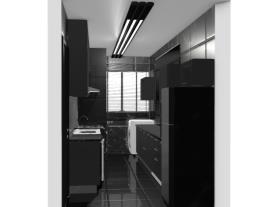 Cozinha e Área de Serviço - Guillermo