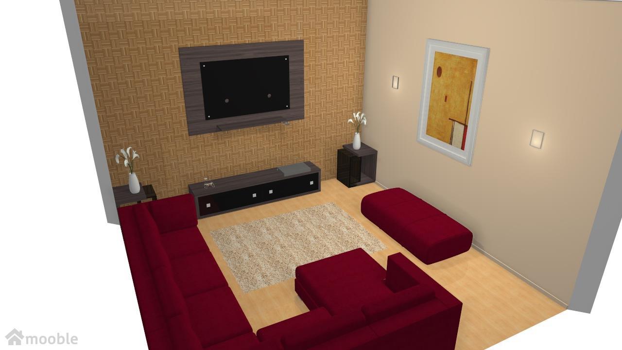 Meu projeto no Mooble sala de estar 3