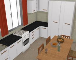 Cozinha de casa 3
