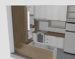 Meu projeto Henn Cozinha em U tampo madeira