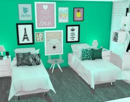 meu quarto e o da vi dos sonhos